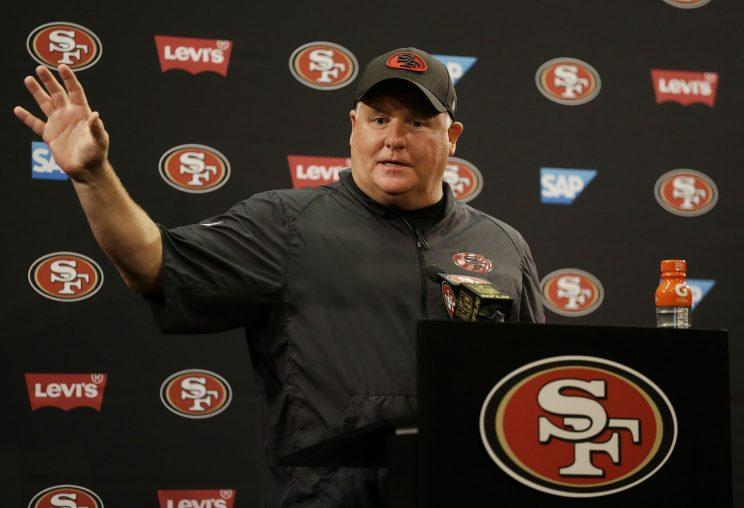 San Francisco 49ers coach Chip Kelly supports Colin Kaepernick's protest (AP)