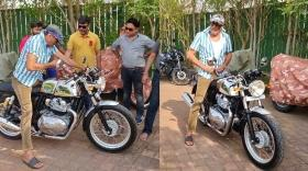 Cheap Thrills: Jackie Shroff buys India's most iconic motorbike Royal Enfield worth Rs 3.5 lakh