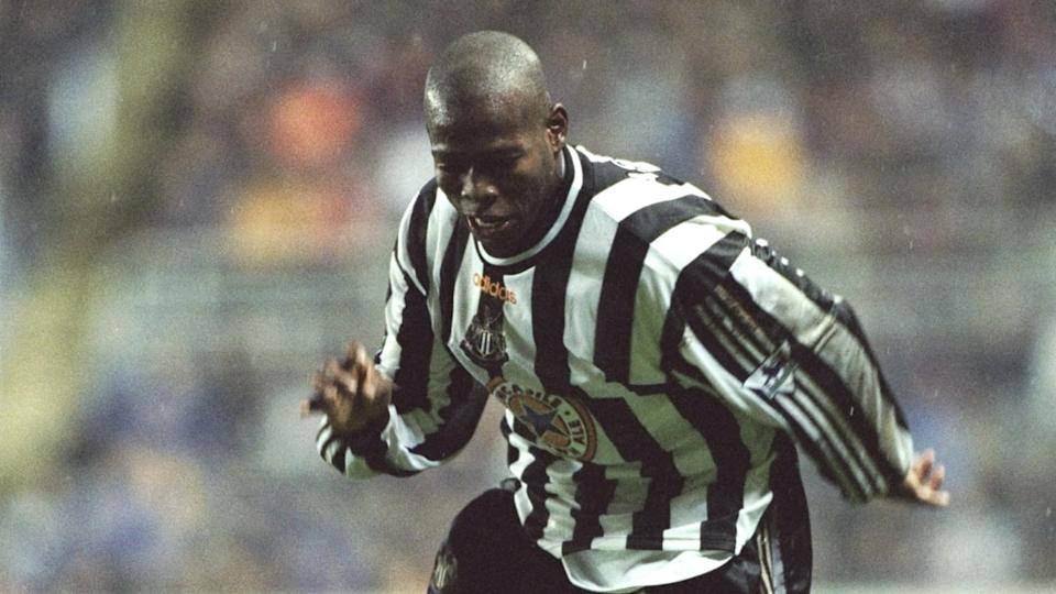 Faustino Asprilla anoto un hat-trick con el Newcastle | Clive Brunskill/Getty Images