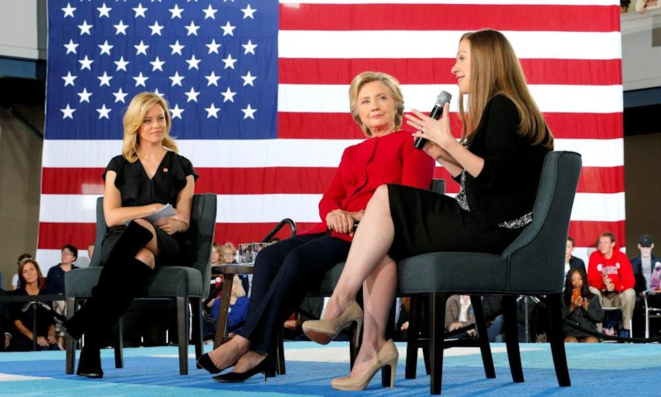 There is speculation in Washington that Hillary Clinton's new book tour could be a springboard for a fresh presidential run
