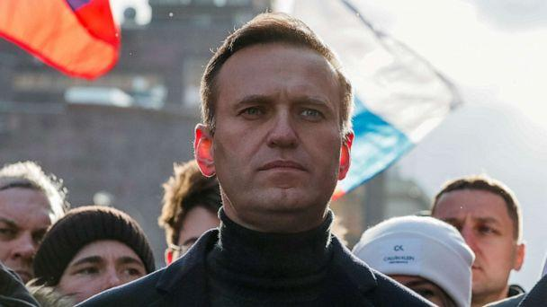 FILE PHOTO: Russian opposition politician Alexei Navalny takes part in a rally to mark the 5th anniversary of opposition politician Boris Nemtsov's murder and to protest against proposed amendments to the country's constitution. (Shamil Zhumatov/Reuters)