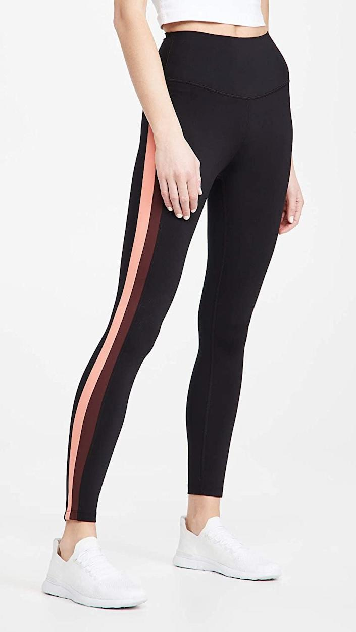 <p>The side stripe on these <span>Splits59 Sydney High Waist Leggings</span> ($72, originally $120) is so flattering, you won't want to take them off.</p>