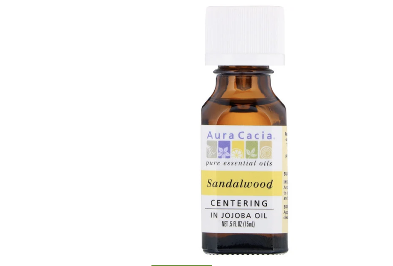 Aura Cacia, Pure Essential Oils, Sandalwood. (PHOTO: iHerb)