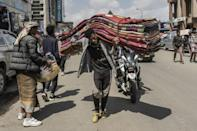 Although Ethiopia's inflation woes predate the conflict, they have been exacerbated by it, with fighting disrupting supply chains (AFP/Amanuel Sileshi)