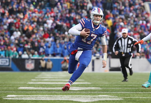 The Bills have a lot invested in QB Josh Allen (Getty Images).