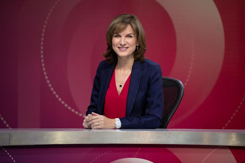 <p>The BBC presenter appeared in total control of her first show.</p>