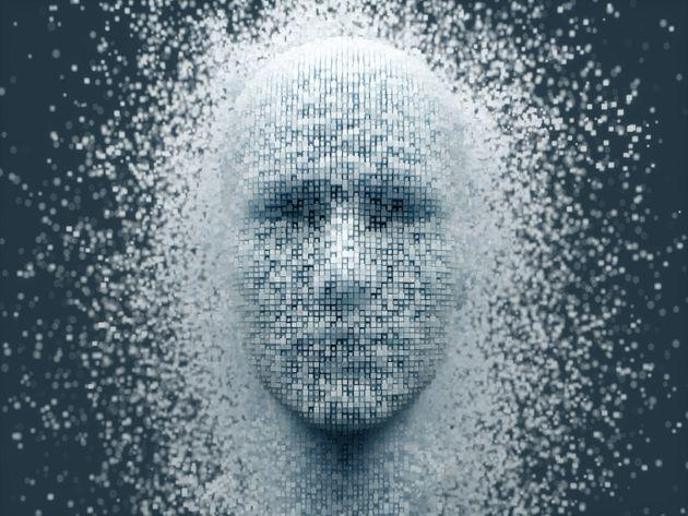 3D dissolving human head made with cube shaped particles. (Photo: imaginima via Getty Images)
