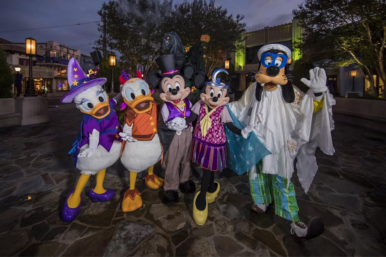 """<p>Oogie Boogie Bash is going to be filled with characters! From being able to <a href=""""https://www.popsugar.com/smart-living/Characters-Can-Talk-Disneyland-44086426"""" class=""""ga-track"""" data-ga-category=""""Related"""" data-ga-label=""""https://www.popsugar.com/smart-living/Characters-Can-Talk-Disneyland-44086426"""" data-ga-action=""""In-Line Links"""">meet your favorite Disney pals</a>, to seeing some super rare characters that have never appeared in a park in the United States before, your family is in for a treat. Character locations are available on the Disneyland app and on park map guides.</p>"""
