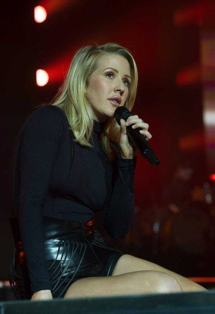 Ellie is encouraging other celebrities to open up about their battles with Anxiety