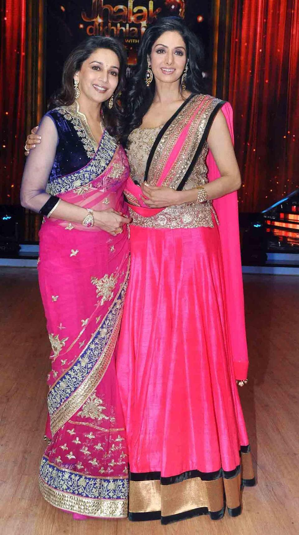 Pics: Sridevi with friends and family