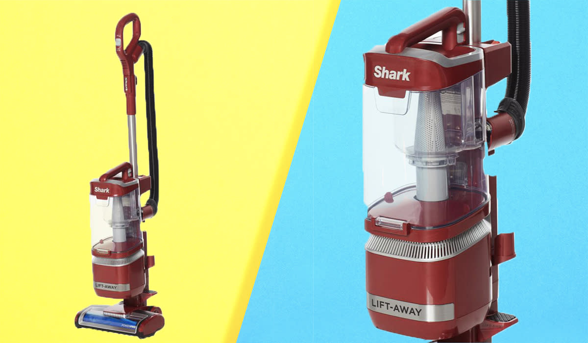 The fire-engine red seems appropriate — this machine's here to rescue your sanity. (Photo: HSN)