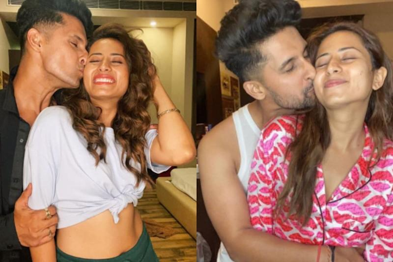 Ravi Dubey Plants Kiss on 'Queen' Sargun Mehta's Cheek, Gives Her 'Beautiful Birthday Present Ever'
