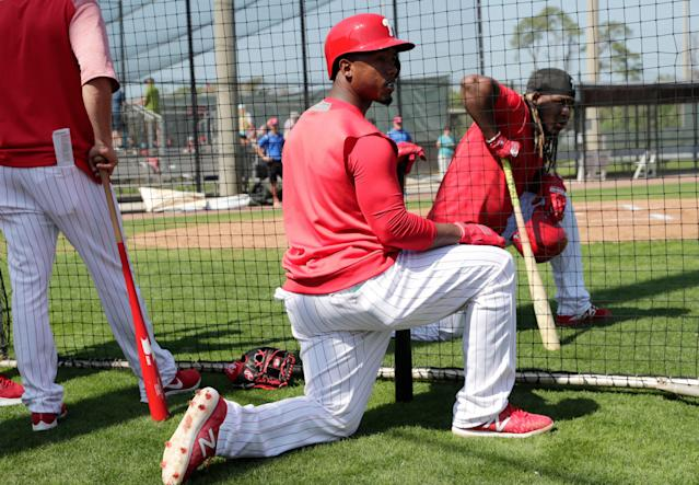 Jean Segura will hit near the top of a loaded Phillies lineup. (AP Photo/Lynne Sladky)