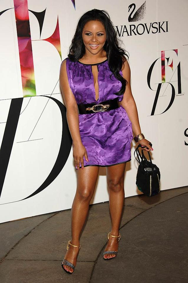 """Compared to some of the other celebs in attendance, Lil' Kim looked rather dressed down for the event. Jamie McCarthy/<a href=""""http://www.wireimage.com"""" target=""""new"""">WireImage.com</a> - June 2, 2008"""
