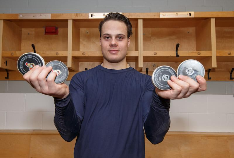 <p>Auston Matthews immediately became a household name in Toronto when he was selected first overall by the Maple Leafs in the 2016 NHL draft. A four-goal game in his debut further spurred the imagination of a bright future for a franchise that's been a laughingstock for too long. (Photo from Andre Ringuette/NHLI via Getty Images) </p>