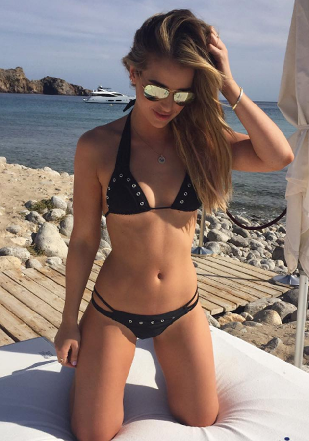 The Irish model has made sure all eyes are on her this week. Photo: Instagram