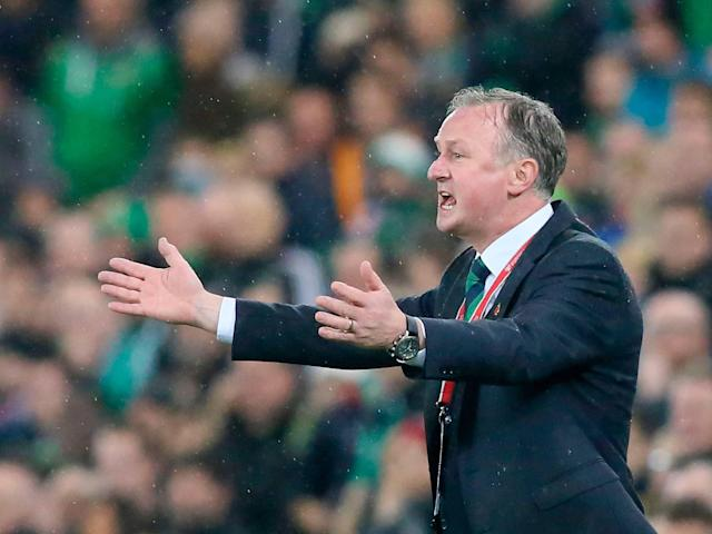 Northern Ireland manager Michael O'Neill fumes at 'staggering' penalty call after defeat to Switzerland