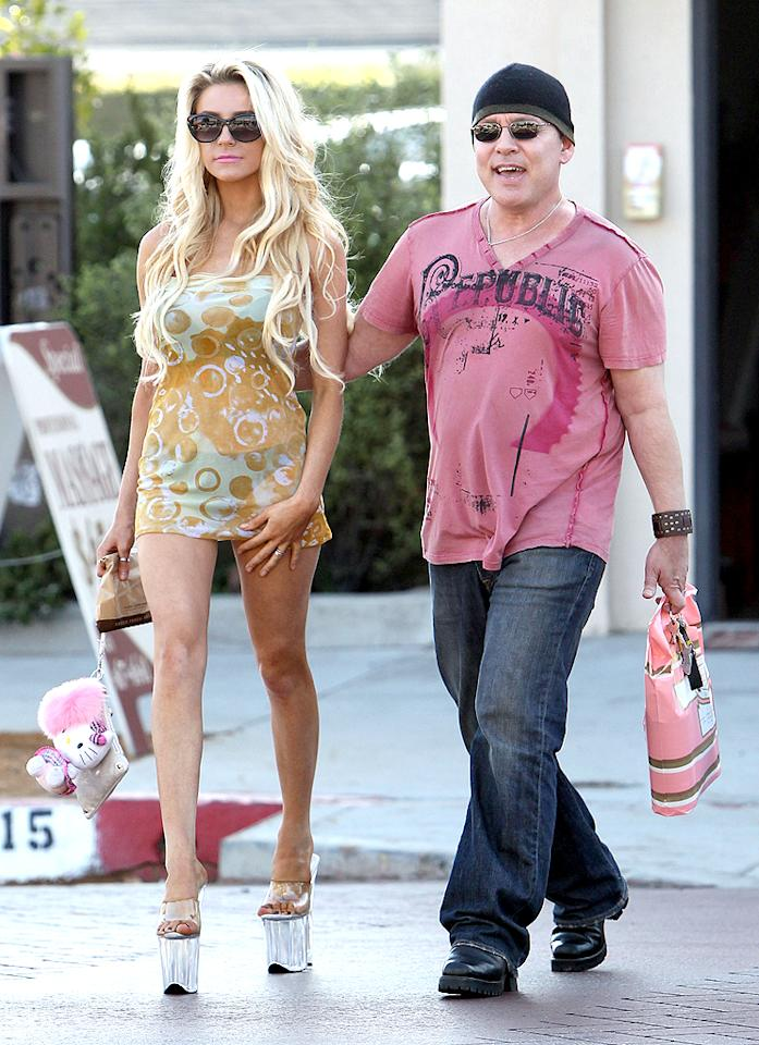 "Did you think we would leave Doug Hutchison and Courtney Stodden off our list? No way. The creep factor is high on this pair because the ""Lost"" actor was 51 years old when he married the 16-year-old aspiring singer in Las Vegas in 2011. As in ... she needed parental permission in order to say ""I do."" At the time Hutchison told E!, ""We're aware that our vast age difference is extremely controversial. But we're very much in love and want to get the message out there that true love can be ageless."" In August, Stodden – who routinely posts risqué photos of herself, often snapped by her husband, on Twitter – turned 18 and she said she was inundated by offers to do pornography. For the record, she's not ruling them out, but is hoping to get an offer from <em>Playboy</em> instead."
