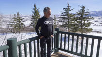 Bill Zanker is shown Friday, March 5, 2021, in Park City, Utah. Zanker, whose Grit Bxng gym in Union Square, Manhattan has been closed since March. Zanker is envisioning a comeback after being forced to close his luxury gym, Grit Bxng due to COVID-19 concerns. He's raising money to launch an at-home fitness business in the fall, which will mean eventually hiring to support a online business, including customer service and supply specialists. (AP Photo/Rick Bowmer)