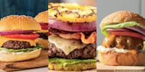 """<p>A <a href=""""https://www.delish.com/uk/cooking/recipes/a28924339/best-burger-recipe/"""" rel=""""nofollow noopener"""" target=""""_blank"""" data-ylk=""""slk:classic beef burger"""" class=""""link rapid-noclick-resp"""">classic beef burger</a> is unbeatable. Juicy and perfectly seasoned, we're big fans of taking those delicious patties to the next level with fun twists and tips. Whether that's <a href=""""https://www.delish.com/uk/cooking/recipes/a28827865/bacon-burger-bites-video/"""" rel=""""nofollow noopener"""" target=""""_blank"""" data-ylk=""""slk:Bacon Burger Bites"""" class=""""link rapid-noclick-resp"""">Bacon Burger Bites</a>, <a href=""""https://www.delish.com/uk/cooking/recipes/a34490847/beer-can-burgers-recipe/"""" rel=""""nofollow noopener"""" target=""""_blank"""" data-ylk=""""slk:Beer Can Burgers"""" class=""""link rapid-noclick-resp"""">Beer Can Burgers</a> or even <a href=""""https://www.delish.com/uk/cooking/recipes/a35416377/pizza-burgers-recipe/"""" rel=""""nofollow noopener"""" target=""""_blank"""" data-ylk=""""slk:Pizza Burgers"""" class=""""link rapid-noclick-resp"""">Pizza Burgers</a>, the world of burger recipes is vast. Of course, if you're not one for trying different recipes, we've made sure to include a smashing go-to <a href=""""https://www.delish.com/uk/cooking/recipes/a28924339/best-burger-recipe/"""" rel=""""nofollow noopener"""" target=""""_blank"""" data-ylk=""""slk:Beef Burger"""" class=""""link rapid-noclick-resp"""">Beef Burger</a> recipe for you to start off with. So, for a selection of super-easy beef burger recipes, keeping reading... </p><p>Looking for more <a href=""""https://www.delish.com/uk/cooking/recipes/g30993382/best-burger-recipes/"""" rel=""""nofollow noopener"""" target=""""_blank"""" data-ylk=""""slk:burger recipes"""" class=""""link rapid-noclick-resp"""">burger recipes</a> (<a href=""""https://www.delish.com/uk/cooking/recipes/a30322495/chicken-burgers-recipe-mslo1010/"""" rel=""""nofollow noopener"""" target=""""_blank"""" data-ylk=""""slk:chicken"""" class=""""link rapid-noclick-resp"""">chicken</a>, <a href=""""https://www.delish.com/uk/cooking/recipes/a29204817/homemade-salmon-burgers-recipe/"""" rel=""""nofollow no"""