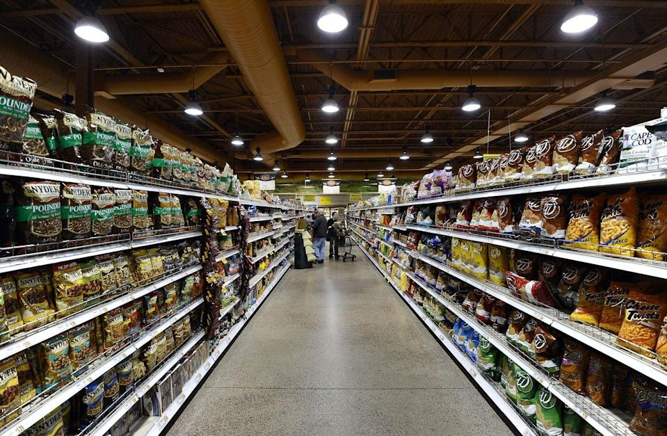 """<p>Before you walk into a Wegmans, make sure you have a lot of time on your hands (especially if it's your first visit), because the stores are truly massive. According to <a href=""""https://www.kiplinger.com/slideshow/spending/T050-S001-8-things-shoppers-should-know-about-wegmans/index.html"""" rel=""""nofollow noopener"""" target=""""_blank"""" data-ylk=""""slk:Kiplinger"""" class=""""link rapid-noclick-resp"""">Kiplinger</a>, the stores can range in size from 75,000 square feet to 140,000 square feet, which is at least double the size of most supermarkets. According to <em>Washington Post</em>, """"<a href=""""https://www.washingtonpost.com/news/wonk/wp/2015/05/13/why-wegmans-really-is-the-best-supermarket-in-the-u-s/?utm_term=.dc9411e3e4f3"""" rel=""""nofollow noopener"""" target=""""_blank"""" data-ylk=""""slk:Inside each Wegmans"""" class=""""link rapid-noclick-resp"""">Inside each Wegmans</a> is the equivalent of 8 to 10 other supermarkets. The produce department by itself in Wegmans store is twice as big as the total supermarket store volume of its average competitors in the U.S.""""<br></p>"""