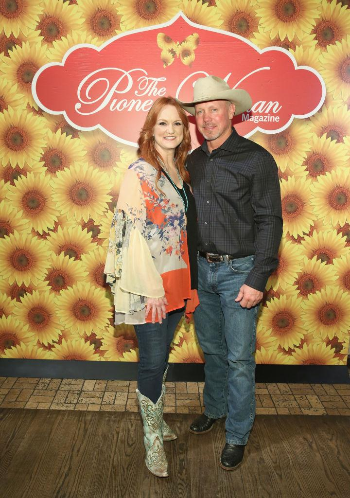 Ree Drummond and husband Ladd attend the launch of