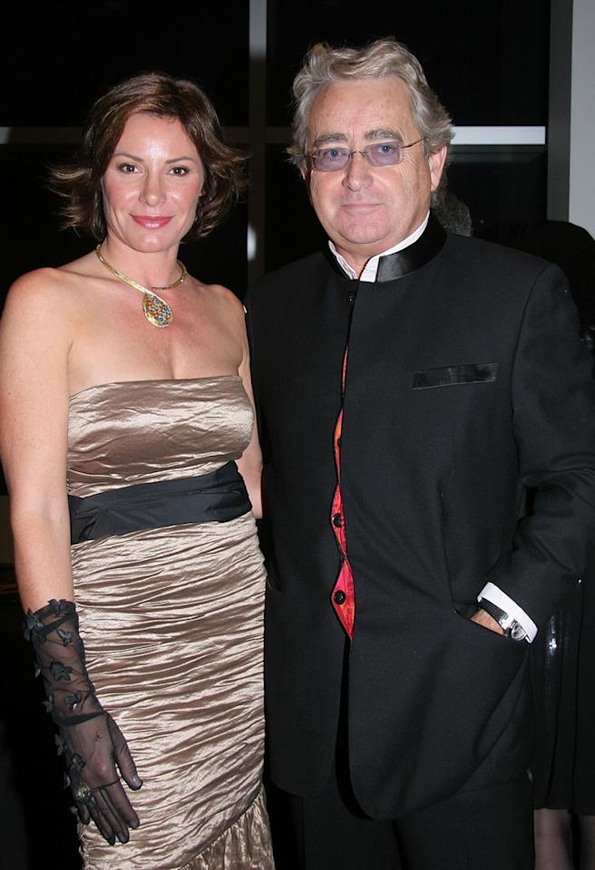 NEW YORK - NOVEMBER 01:  Count Alexandre de Lesseps (R) and Countess Luann de Lesseps (L) attend the Hooray for Hollywood Gala to Benefit The Auditory Oral School of New York at Steiner Studios, Brooklyn Navy Yard on November 1, 2007 in the Brooklyn borough of New York City.  (Photo by Janette Pellegrini/WireImage)  *** Local Caption ***