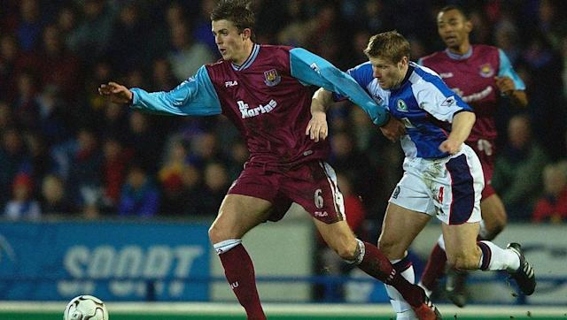<p>Carrick was another product of the highly respected West Ham youth system in the late 90s.</p> <p>Having broken into the team aged 19, the midfielder suffered the agony of relegation in his third year as a first team regular.</p> <p>After a brief spell with Tottenham, Carrick was signed by Manchester United in 2006, where he has gone onto win five Premier League titles.</p>
