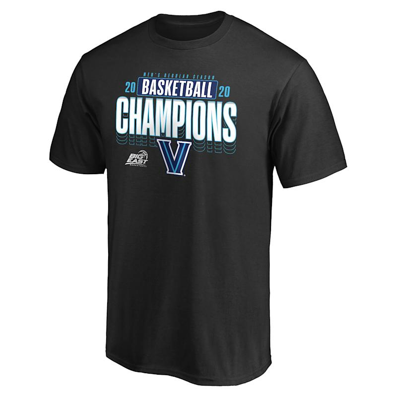 Wildcats 2020 Big East Men's Basketball Champions T-Shirt