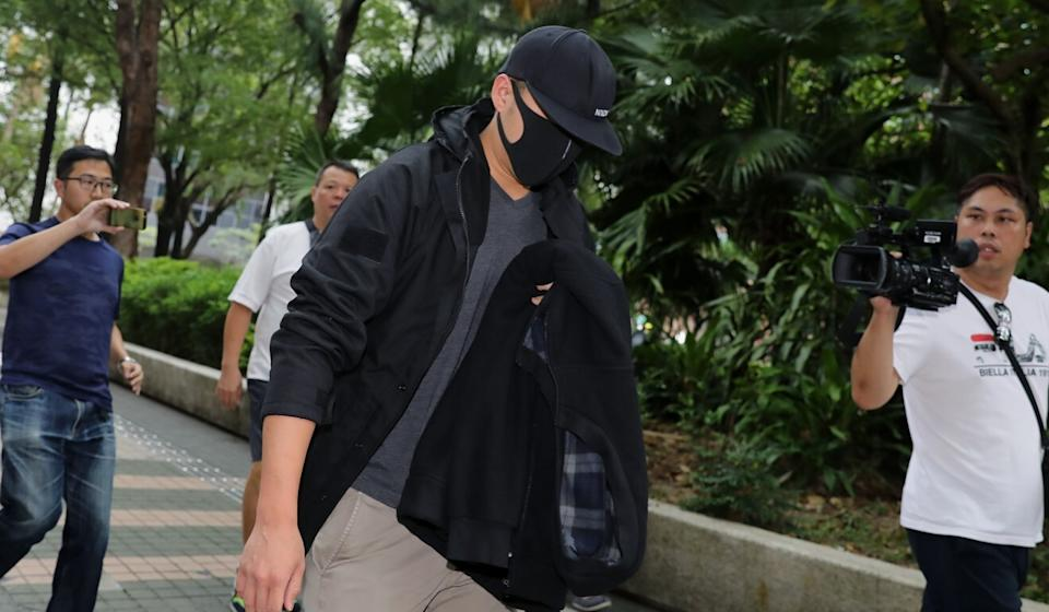 Tang Man-him, one of the two officers who committed the assault, previously pleaded guilty to misconduct in public office. Photo: Dickson Lee