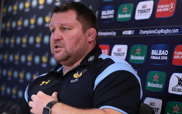 Dai Young has voiced his concerns about the current state of the Wasps defence - Getty Images Europe