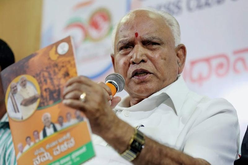 Karnataka CM Yediyurappa Re-allocates Covid-19 Related Work to Ministers
