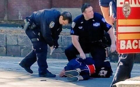 A picture allegedly showing the attacker - Credit: @GGGLee089