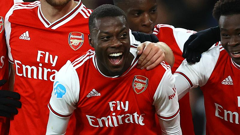 Lacazette warns Arsenal's Premier League rivals over 'confident' Pepe