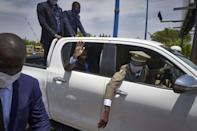 President of Mali's transitional government Colonel Assimi Goita returned to Bamako from the ECOWAS meeting in Accra