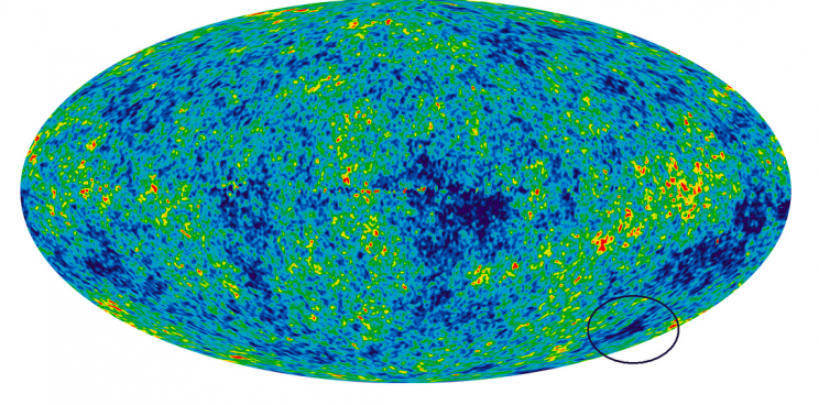 The cold spot could be evidence of a larger multiverse (Flickr)
