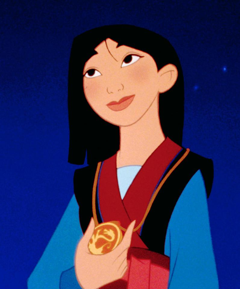 the issue of non existant feminism in mulan