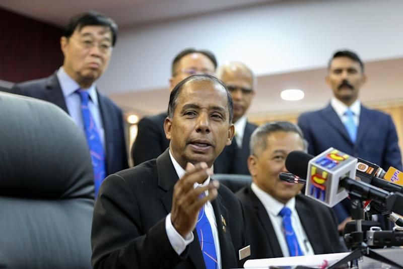 In November, Human Resources Minister M. Kulasegaran said high-ranking staff of HRDF misappropriated around RM100 million of the RM300 million in the fund. ― Picture by Ahmad Zamzahuri