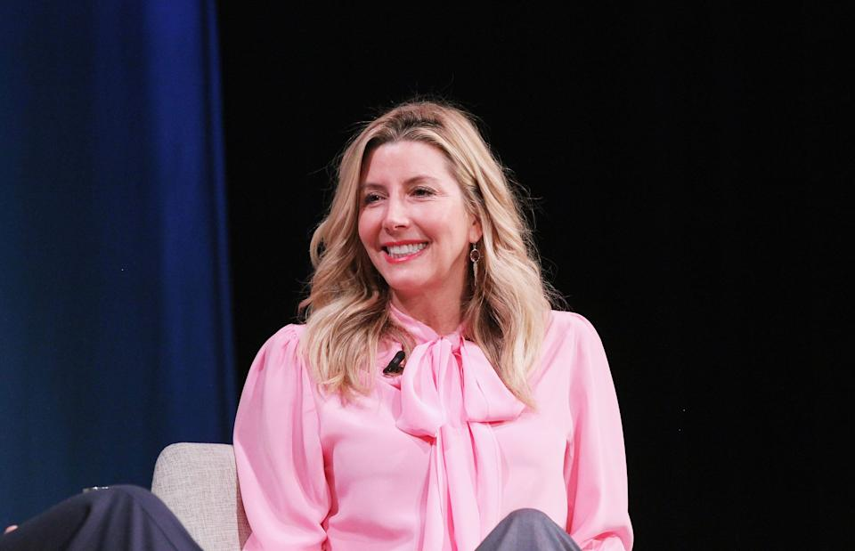 NEW YORK, NY - OCTOBER 25:  Spanx Founder Sara Blakely speaks onstage for during day 3 of Fast Company Innovation Festival at 92nd Street Y on October 25, 2018 in New York City.  (Photo by Bennett Raglin/Getty Images for Fast Company)