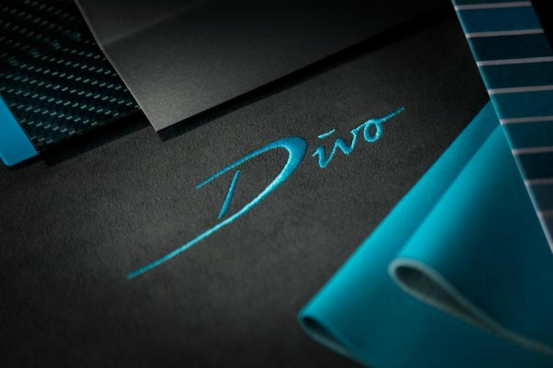 Bugatti Divo teaser image. (Image: AFP Relaxnews)