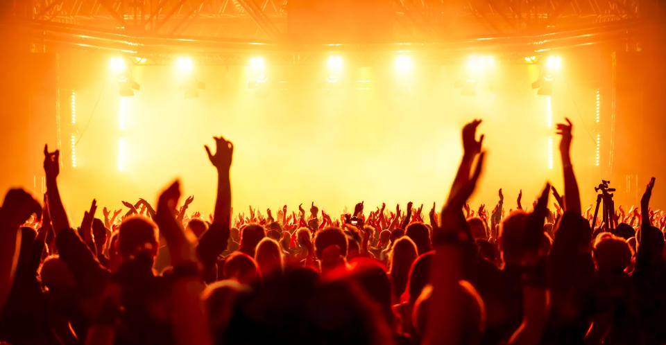 No one who attended a trial concert tested positive for the coronavirus eight days later. (Stock, Getty Images)