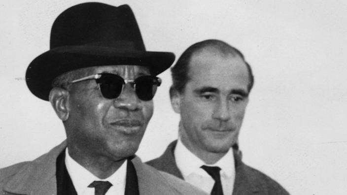 Hastings Kamuzu Banda agitated for independence from Britain and became President for Life