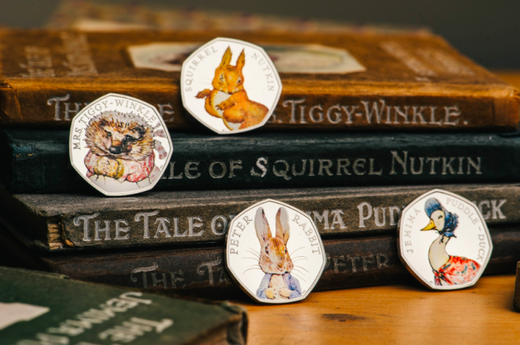 Rare: The Beatrix Potter collection are worth at least hundreds of pounds (SWNS)