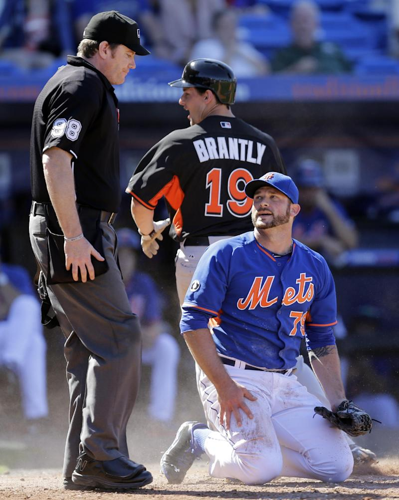 Reed Johnson's single sends Marlins over Mets 9-1