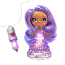"<p>If you have a kid who's into crystals, or decorating their rooms with light-up LEDs, this is definitely the toy of the year. Each of these light-up fairy dolls is associated with a different color that embodies a certain crystal power (love, wisdom, luck or healing). They also come with crystal shaped amulets for kids to wear that can ""collect"" all of the different colors — and even pass them to friends who might have their own amulet. The dolls cane share their colors, too, to make for a cool room display. </p><p><em>Ages 4+<br>$18<br>Available Fall 2021</em><br></p>"
