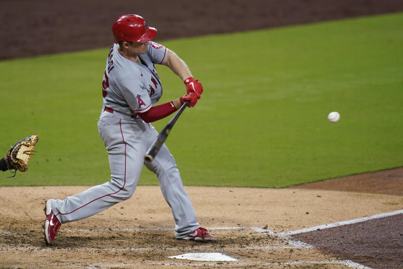 Stassi, Canning lead Angels over playoff-bound Padres 4-2