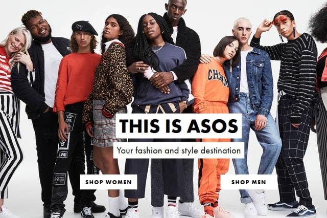 The ASOS home page