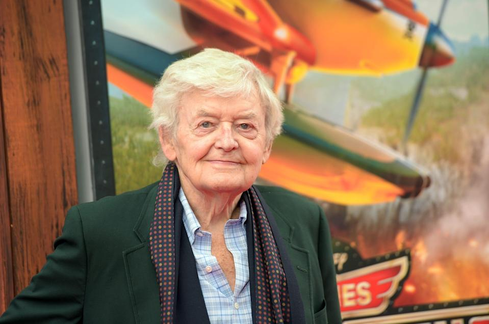 """Actor Hal Holbrook attends the premiere of Disney's """"Planes: Fire & Rescue"""" at the El Capitan Theatre on July 15, 2014 in Hollywood, California."""