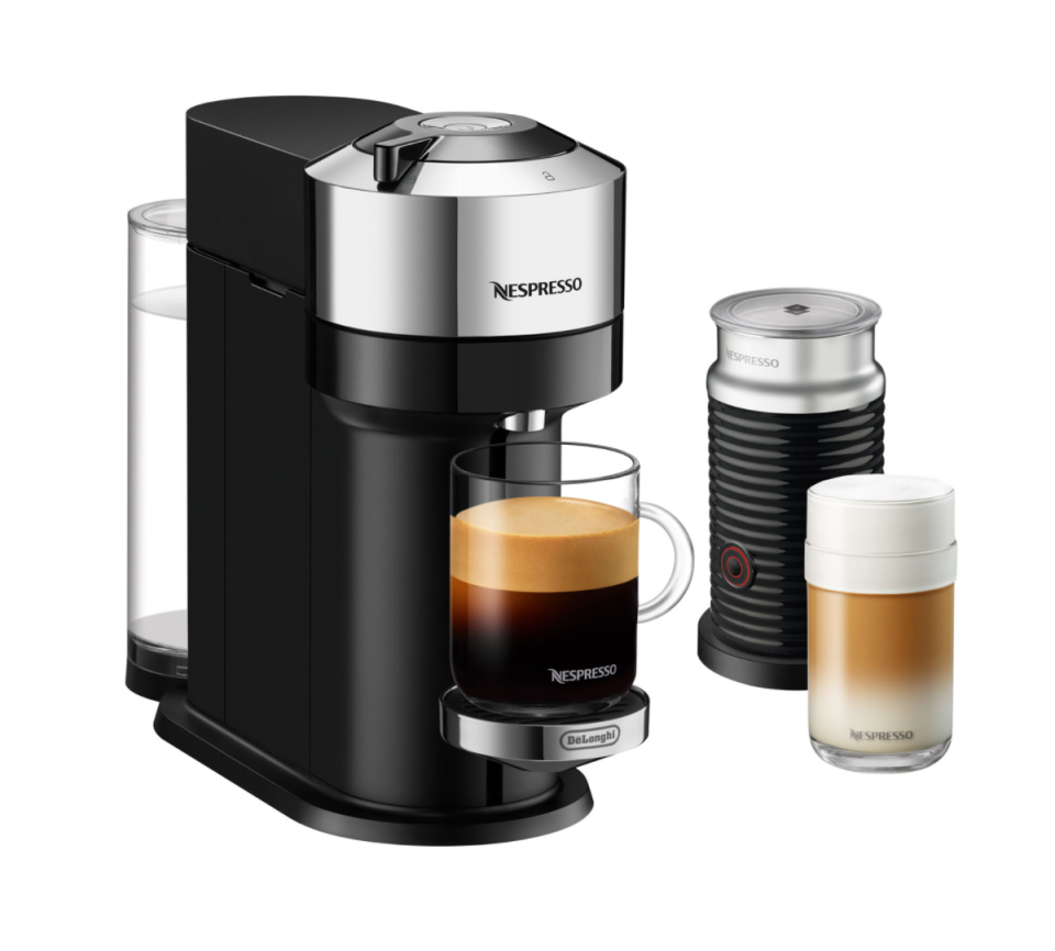 Nespresso Vertuo Next Coffee & Espresso Machine with Aeroccino (Photo via Best Buy Canada)