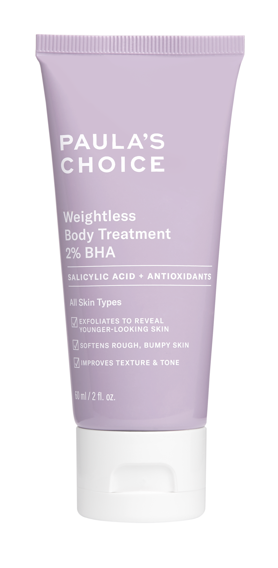 Paula's Choice Weightless Body Treatment - Credit: Courtesy of the Brand